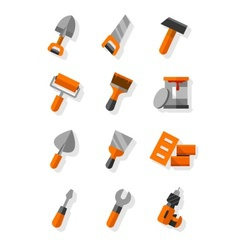 Working tools for vector image vector image