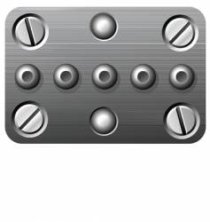 nuts and bolts vector image