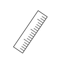 ruler vector image
