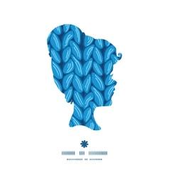 knit sewater fabric horizontal texture girl vector image vector image