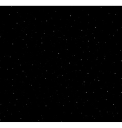 Starry night background vector image vector image