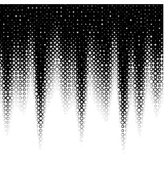 Background with gradient black and white vector