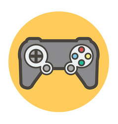 Game joystick vector