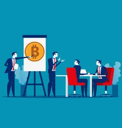 Professional training business presentation vector