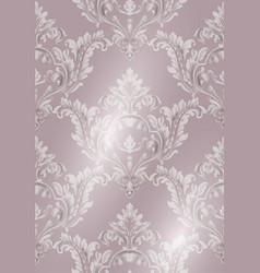 rococo texture pattern vector image
