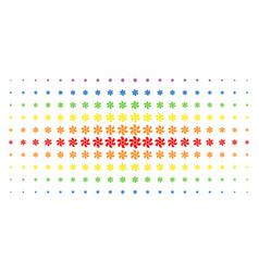 Rotor spectrum halftone effect vector