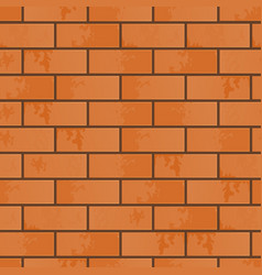 The imitation of brickwork vector