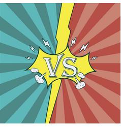versus vector image