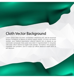 Cloth Background vector image vector image