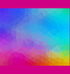 multicolored abstract geometric background with vector image