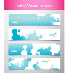 abstract web headers vector image