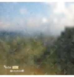 blurred web and mobile interface template vector image