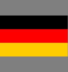 Federal republic germany flag vector