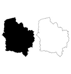 hauts-de-france map vector image