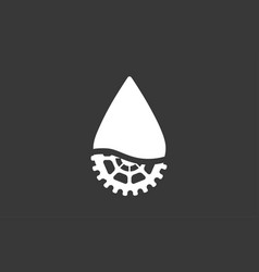 oil icon sign symbol vector image