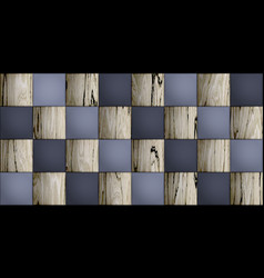 wallpaper seamless background with elegant tiles vector image