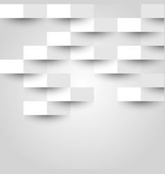 Abstract background with white geometric vector