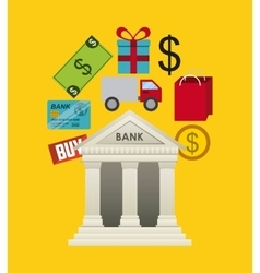 banking concept design vector image