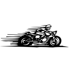 Cafe racer vector