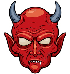 Devil face vector
