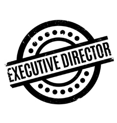 Executive Director rubber stamp vector image
