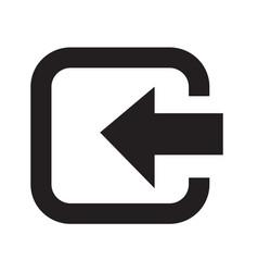 Login entry icon design vector