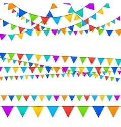 Paper Garland Decoration vector