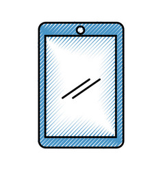 Tablet device isolated icon vector