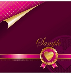 Valentine's background vector