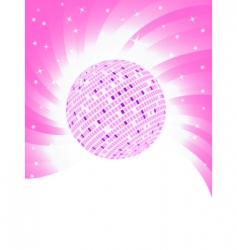 vector pink background vector image