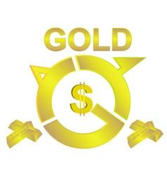 Gold vector