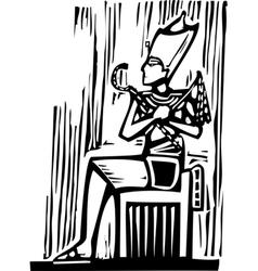 Egyptian Pharaoh vector image vector image