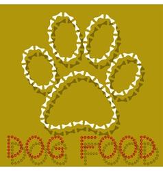 Dog Food vector image vector image
