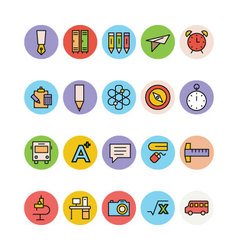 Education Colored Icons 5 vector
