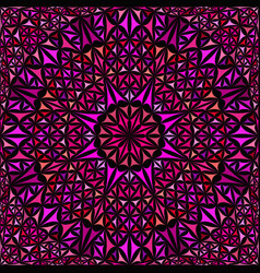 Pink seamless abstract curved triangle mosaic vector