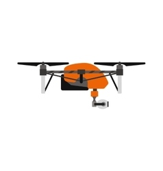 Quadrocopters drone helicopter toy vector
