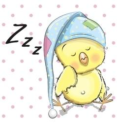 Sleeping Chicken vector