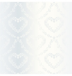 Victorian wedding pattern vector image vector image