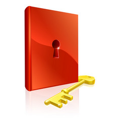key to learning vector image vector image