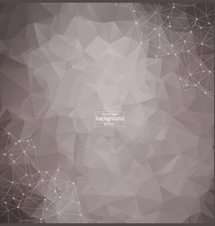 abstract composition futuristic technology silver vector image