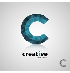 C logocreative logo design Logo Template vector image