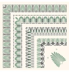Decorative corners vector
