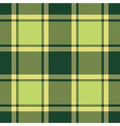 Green ireland plaid seamless fabric texture vector