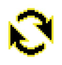 Refresh arrows cursor vector
