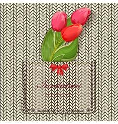 tulip9 vector image