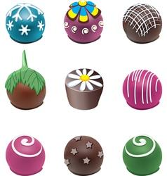 candies vector image vector image
