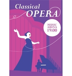 Classical Opera Concept vector image vector image