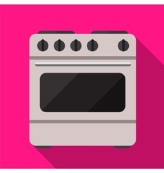 Cooker flat icon vector image