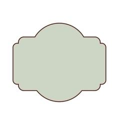 Blank retro vintage badges vector