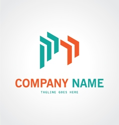 building contruction abstract logo vector image